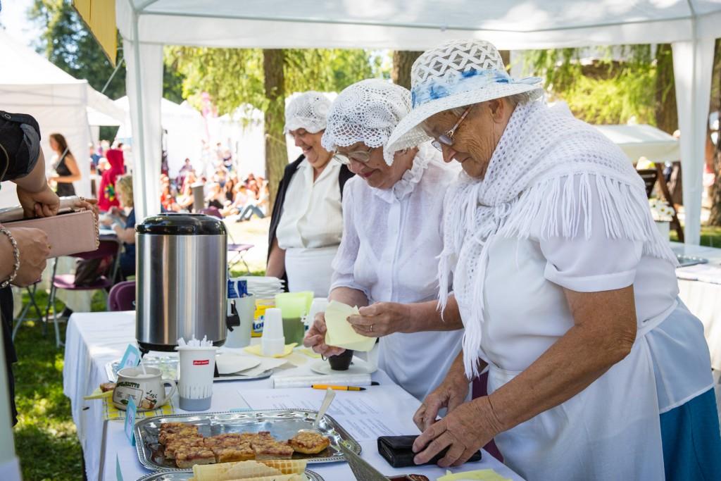 Festivalil leiab omale meelepärase söögikoha igaüks.