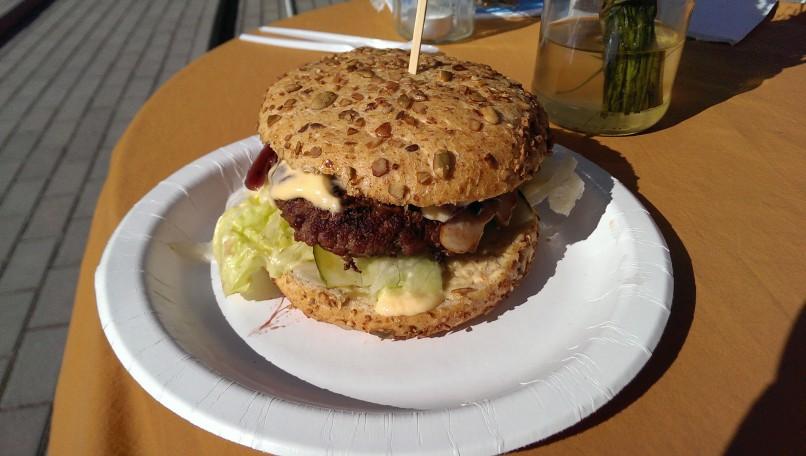 Lunch @ Arvamus: Hamburger